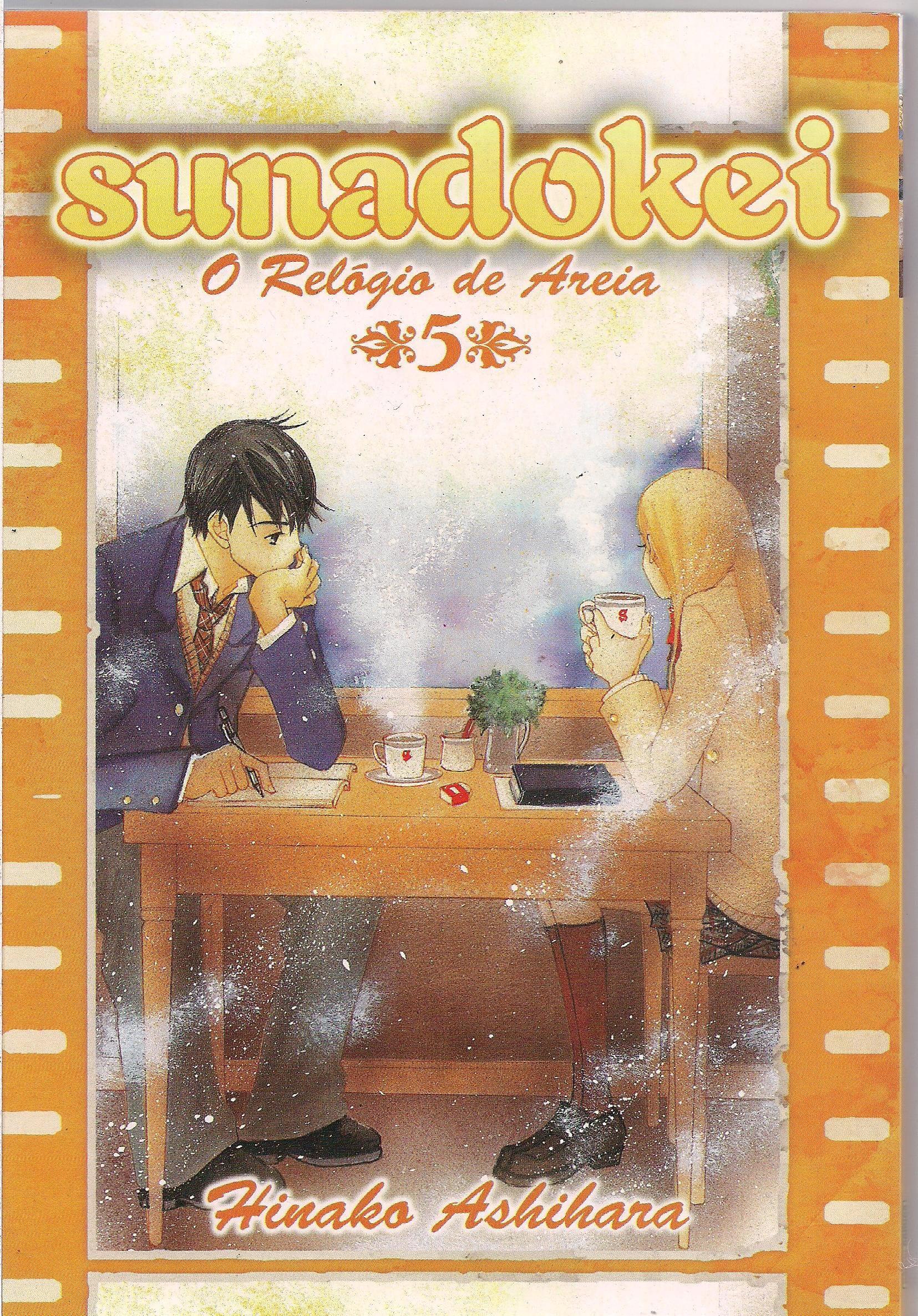 Capa: Sunadokei - O Relógio da Areia 5