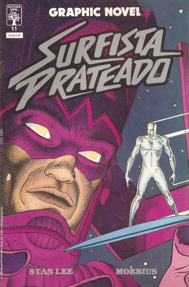 <span>Graphic Novel – Surfista Prateado 11</span>