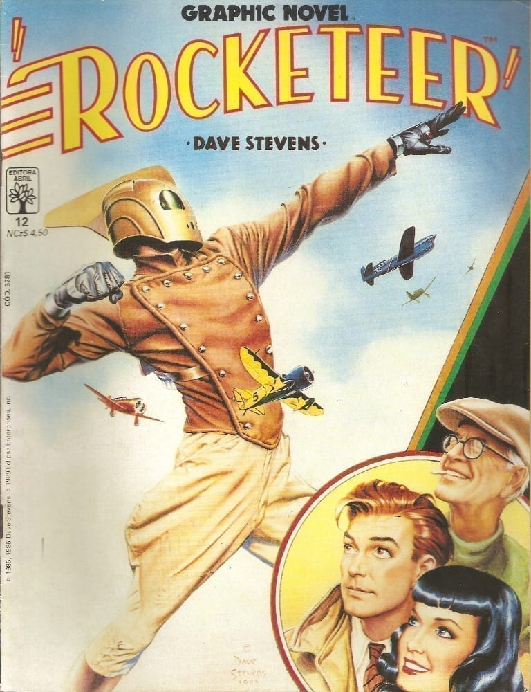 <span>Graphic Novel – Rocketeer 12</span>