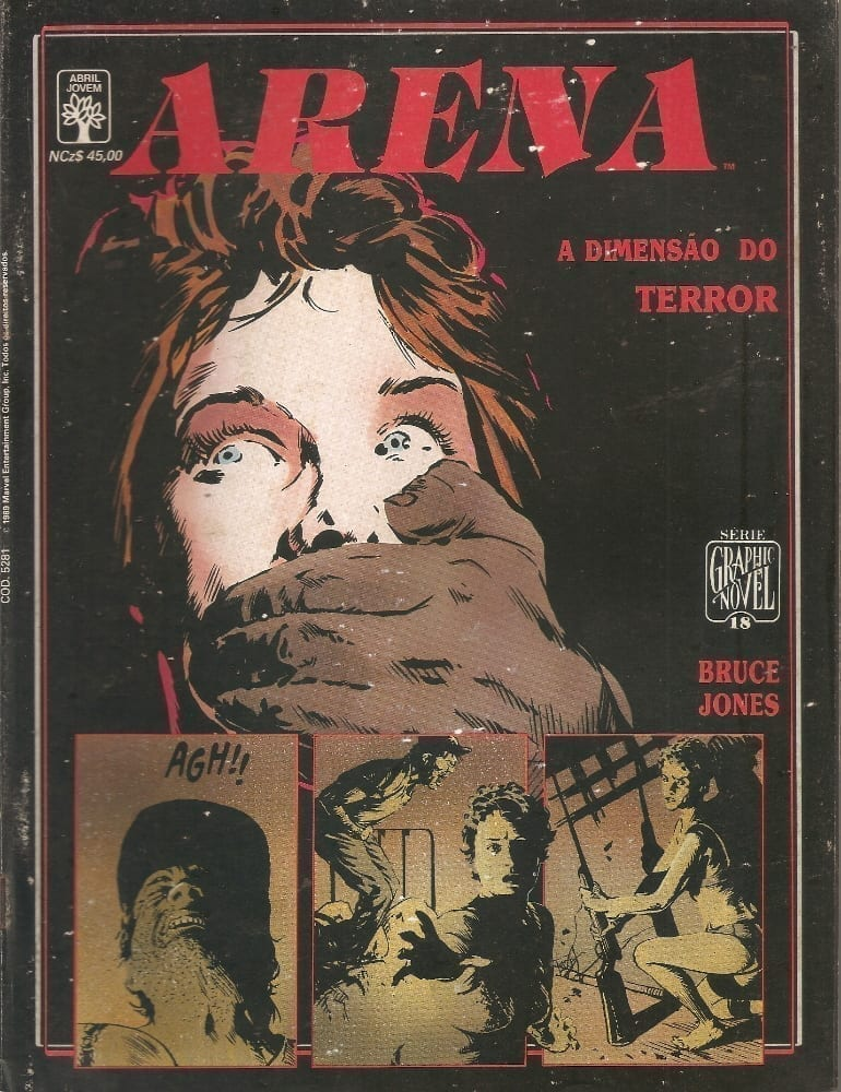 <span>Graphic Novel – Arena – A Dimensão do Terror 18</span>