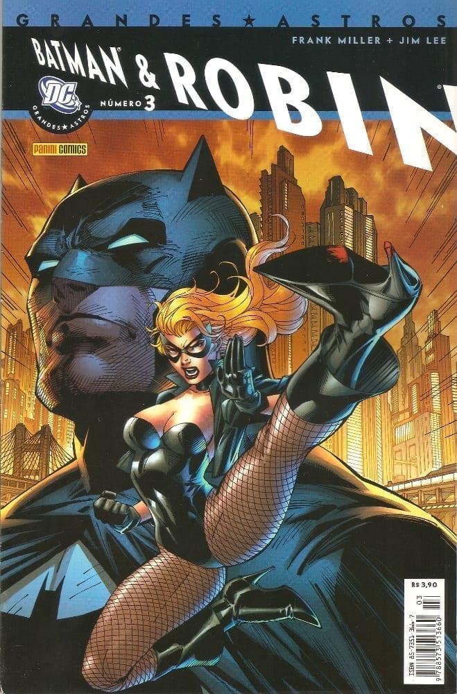 Capa: Grandes Astros Batman & Robin 3
