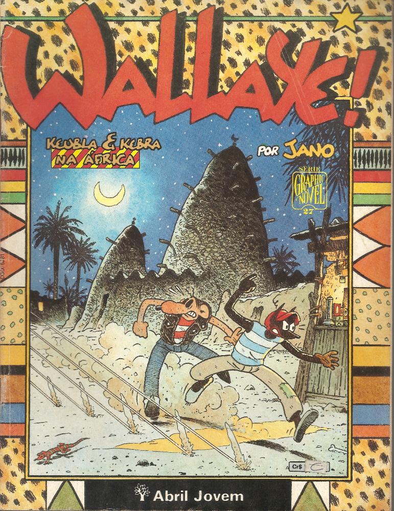 Capa: Graphic Novel - Wallaye! - Keubla e Kebra na África 27