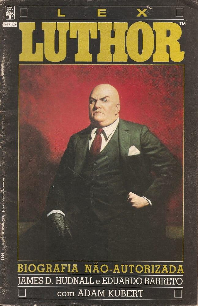 Capa: Lex Luthor - Biografia Não-Autorizada (Abril) 0