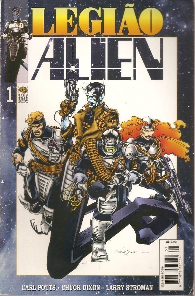 Capa: Legião Alien 1