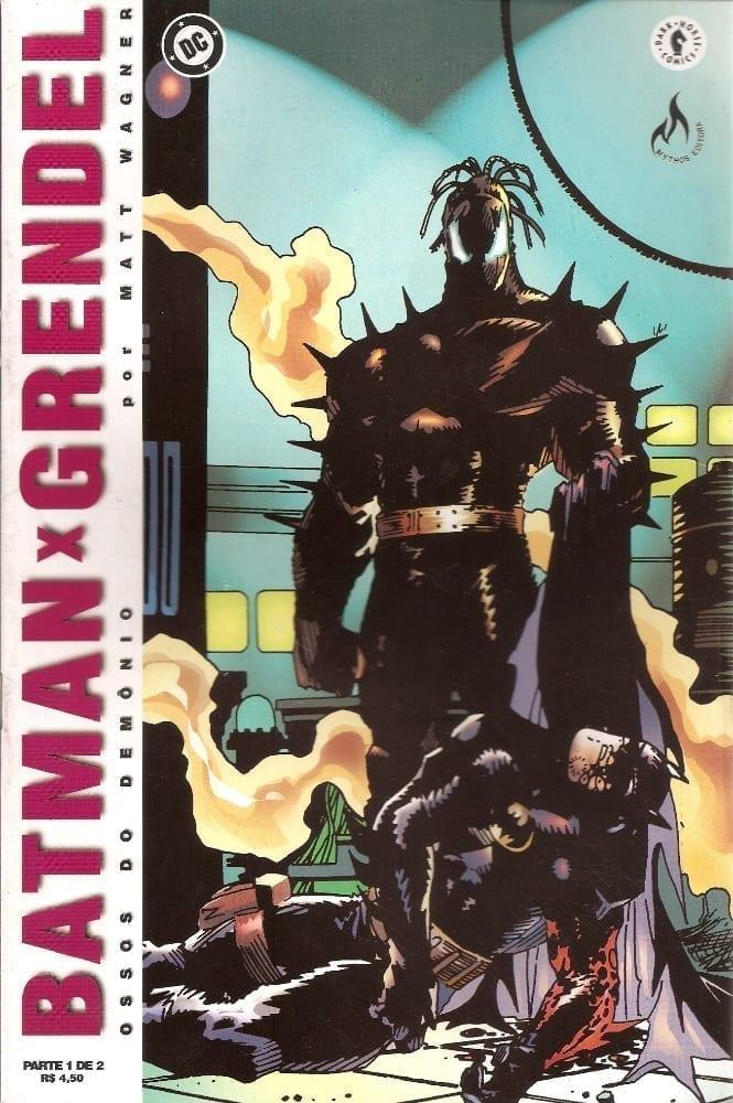 Capa: Batman X Grendel (2ª Edição) 1