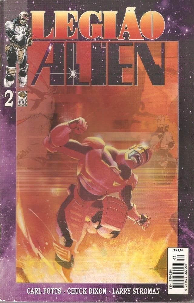 Capa: Legião Alien 2