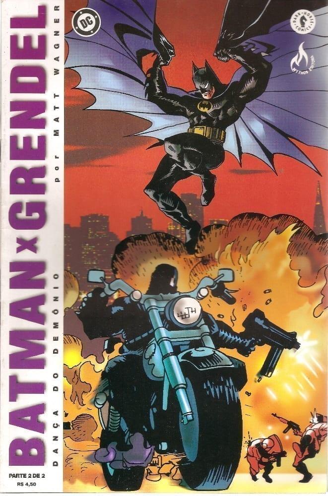 Capa: Batman X Grendel (2ª Edição) 2