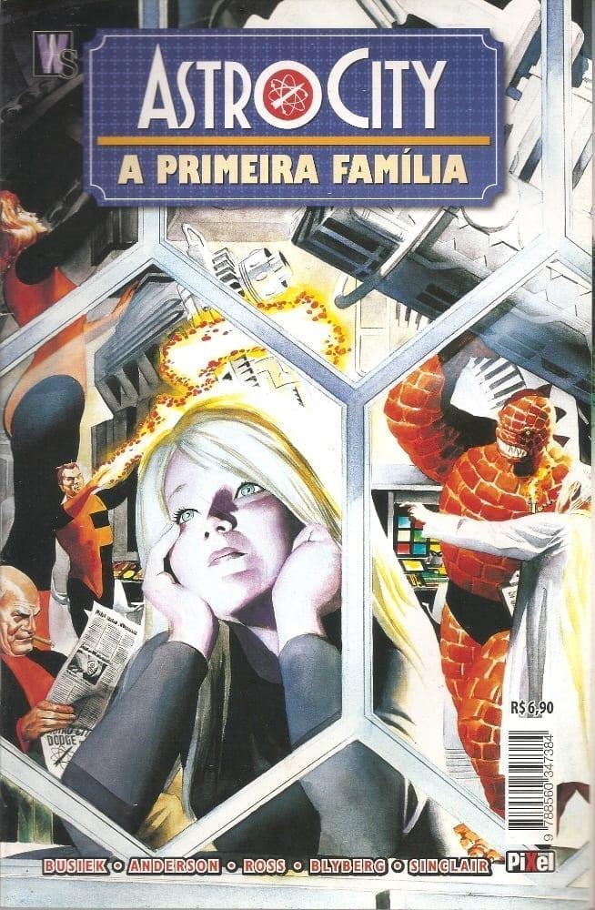 Capa: Astro City - A Primeira Família
