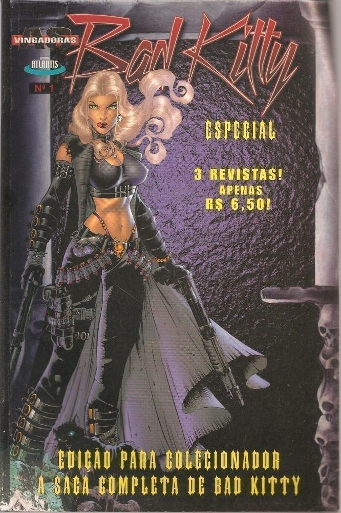 <span>Bad Kitty — Edição Encadernada</span>