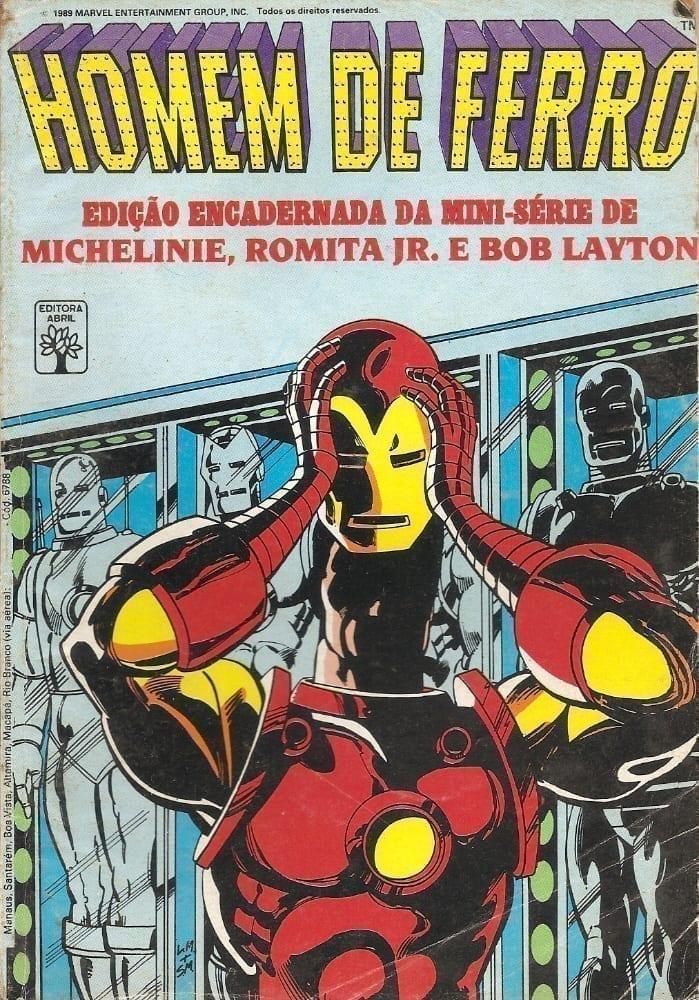 <span>Homem de Ferro – Edição Encadernada da mini-série 1</span>
