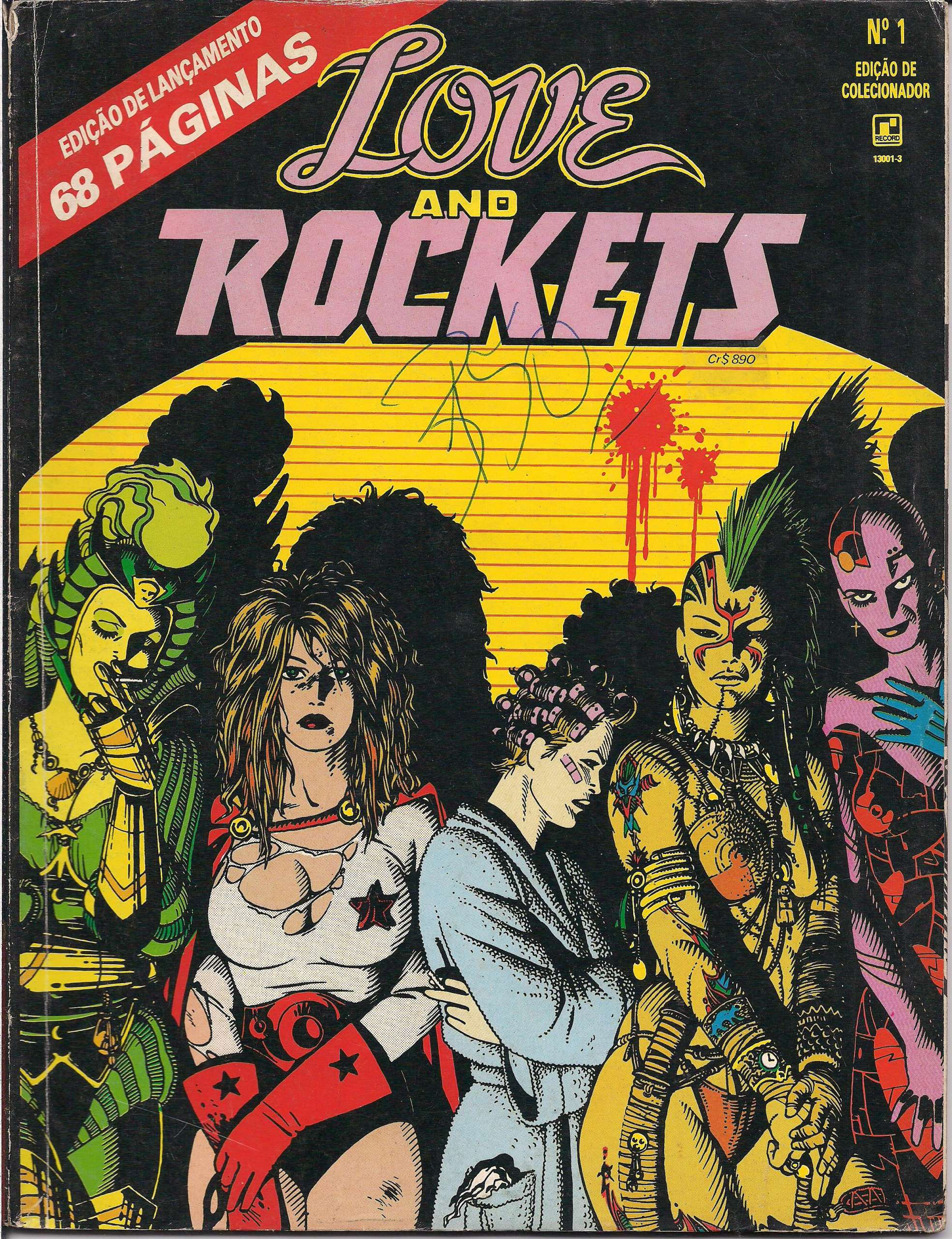 <span>Love and Rockets 1</span>