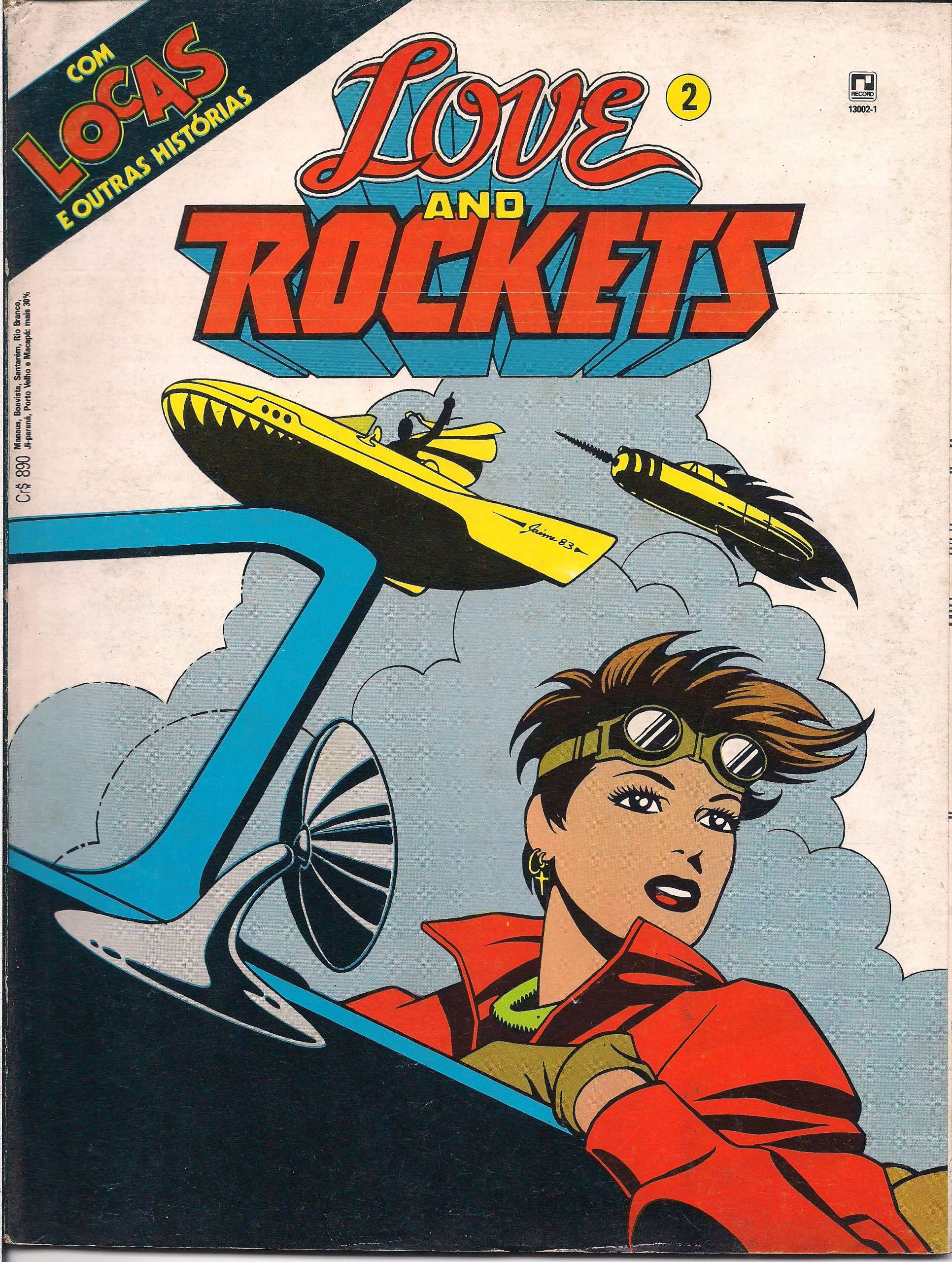 <span>Love and Rockets 2</span>