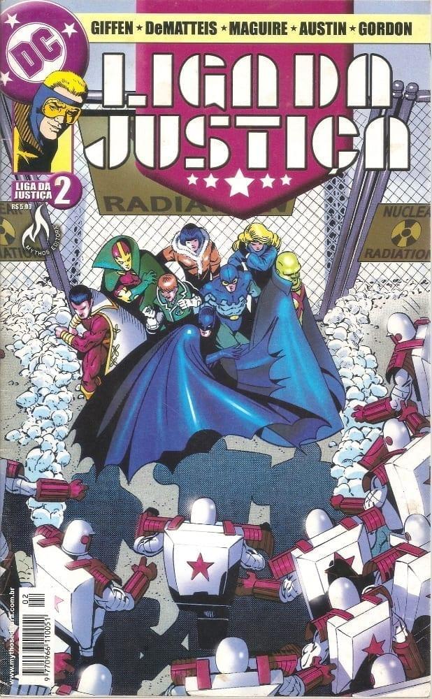 Capa: Liga da Justiça - Um Novo Começo 2