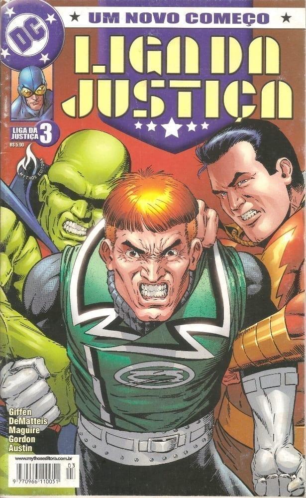 Capa: Liga da Justiça - Um Novo Começo 3