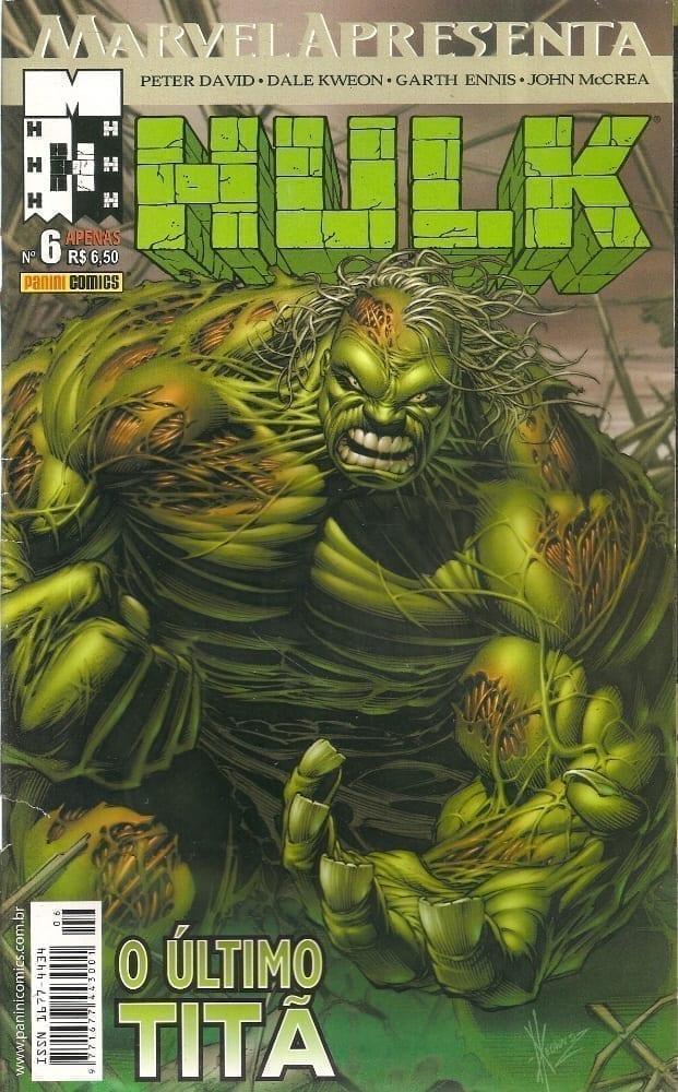 <span>Marvel Apresenta – Hulk – O Último Titã 6</span>