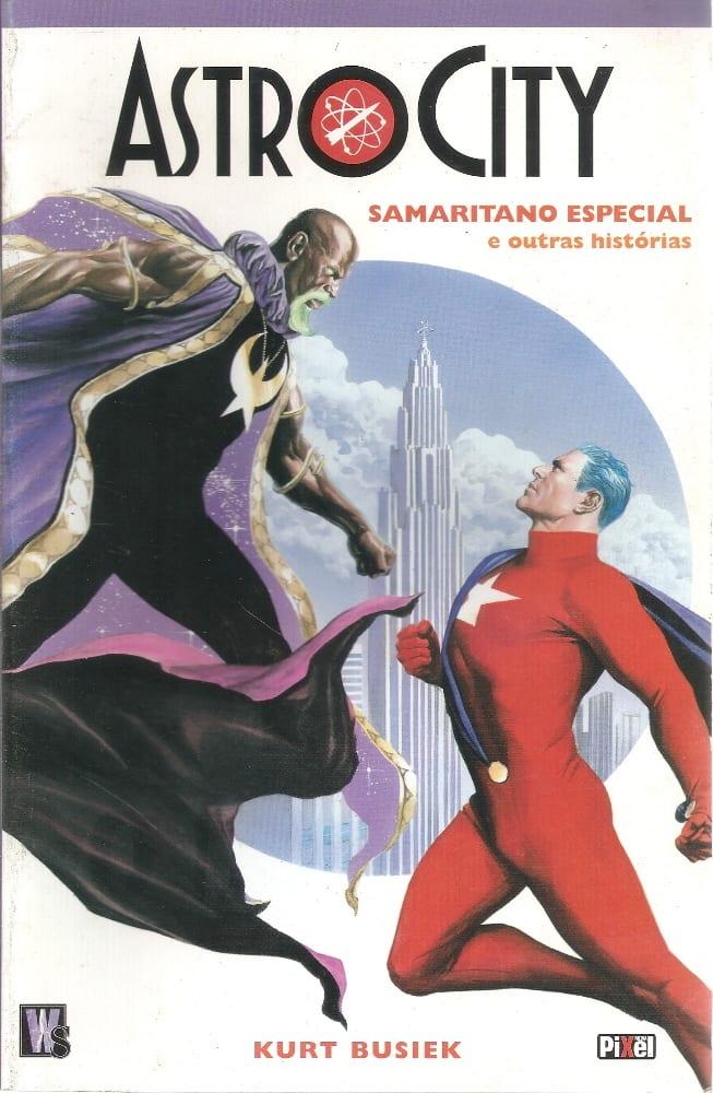 Capa: Astro City - Samaritano Especial e Outras Histórias