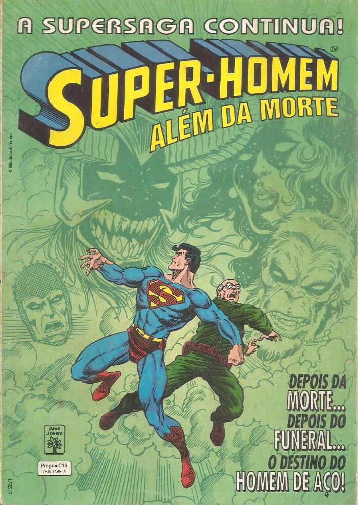 Capa: Super-Homem: Além da Morte