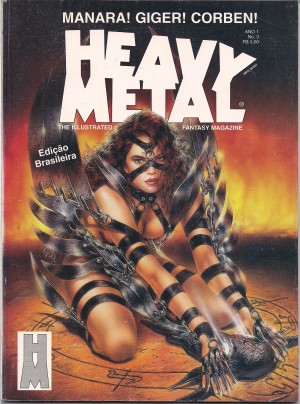 Capa: Heavy Metal 3