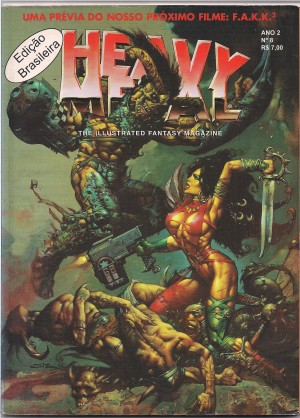 Capa: Heavy Metal 8