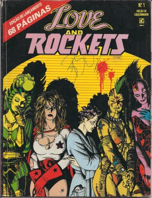 Capa: Love and Rockets 1