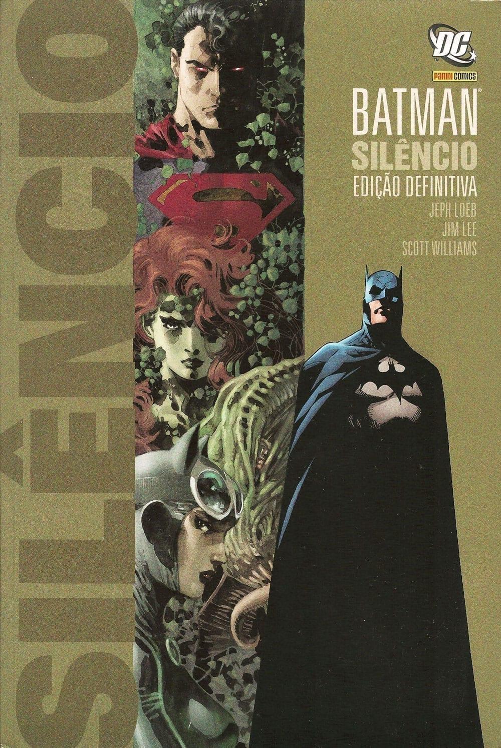 Capa: Batman: Silêncio - Edição Definitiva