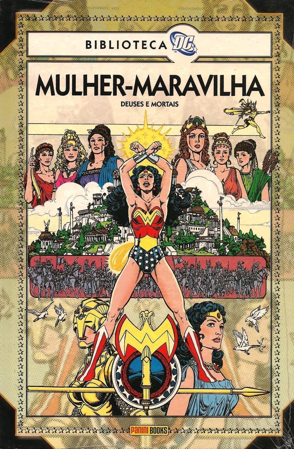 Capa: Biblioteca DC - Mulher-Maravilha: Deuses e Mortais
