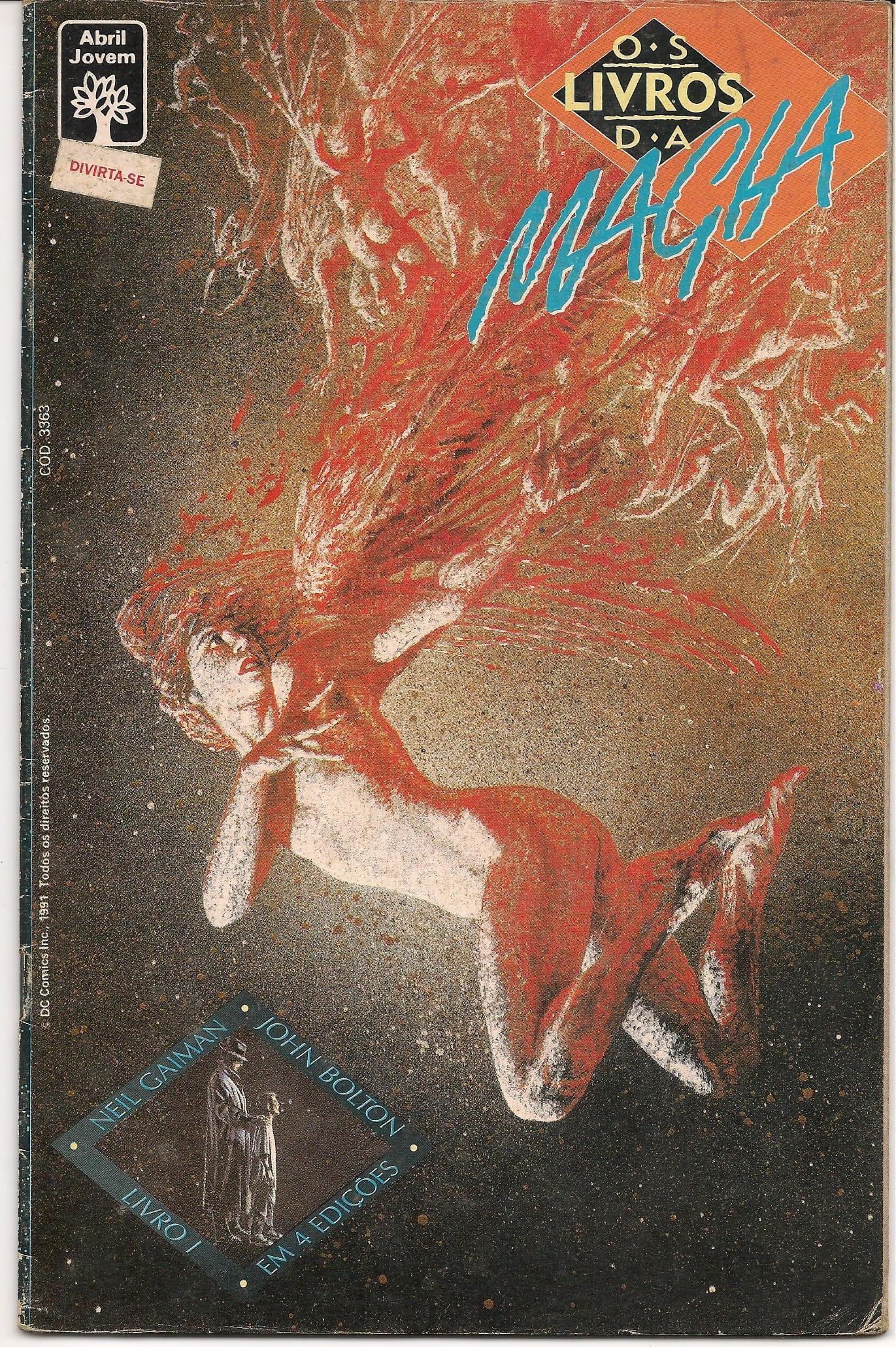 Capa: Os Livros da Magia (Abril) 1