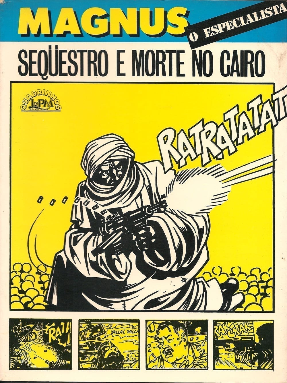 Capa: Magnus - O Especialista: Sequestro e Morte no Cairo