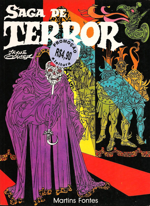 Capa: Saga de Terror
