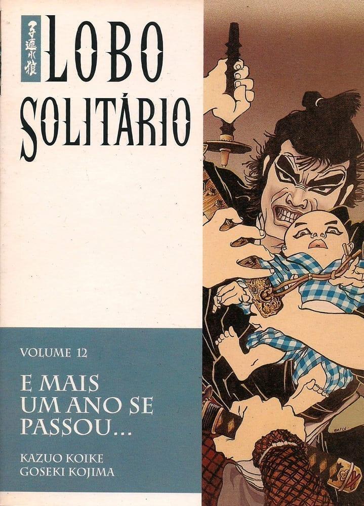 Capa: Lobo Solitário Panini 12