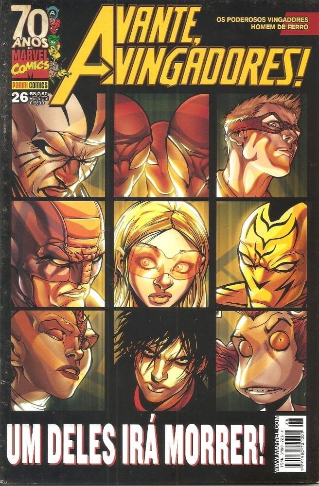 Capa: Avante, Vingadores! - 1ª Série 26