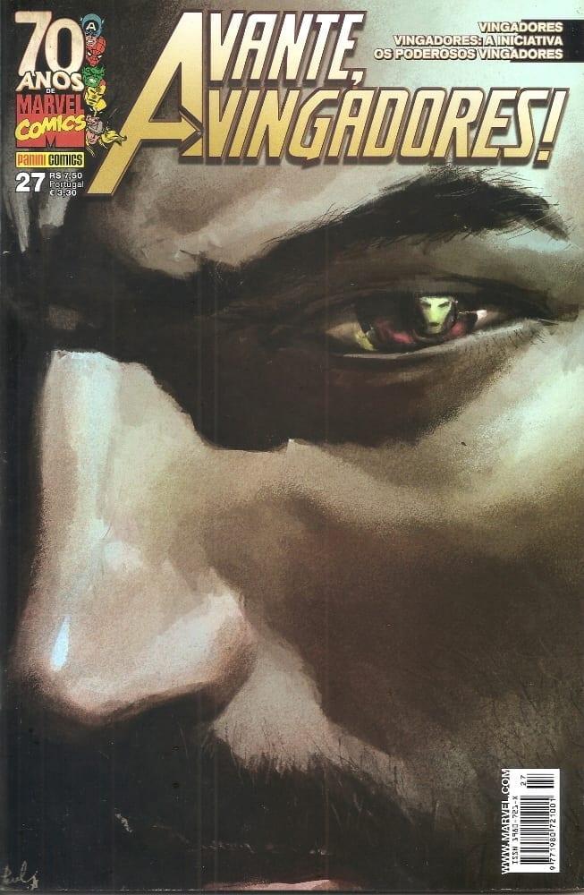 Capa: Avante, Vingadores! - 1ª Série 27