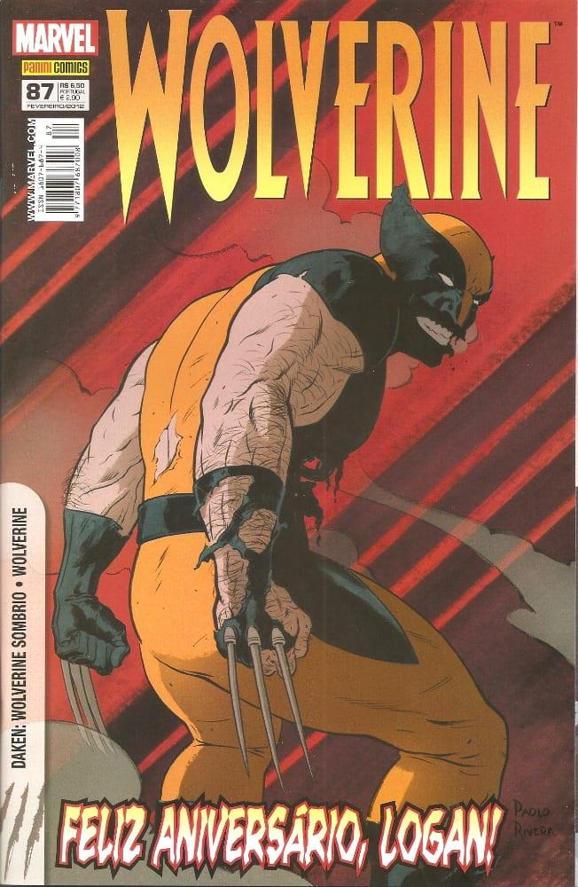 Capa: Wolverine - 1ª Série (Panini) 87