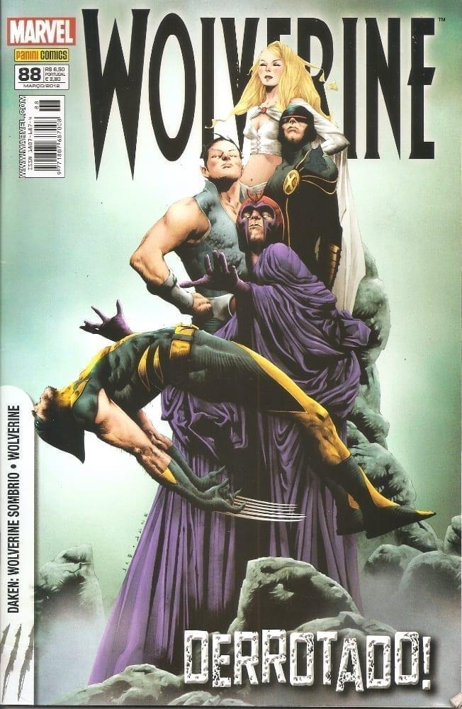 Capa: Wolverine - 1ª Série (Panini) 88