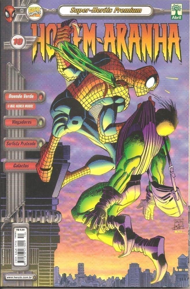 Capa: Homem-Aranha - 2ª Série (Super-Heróis Premium) 10