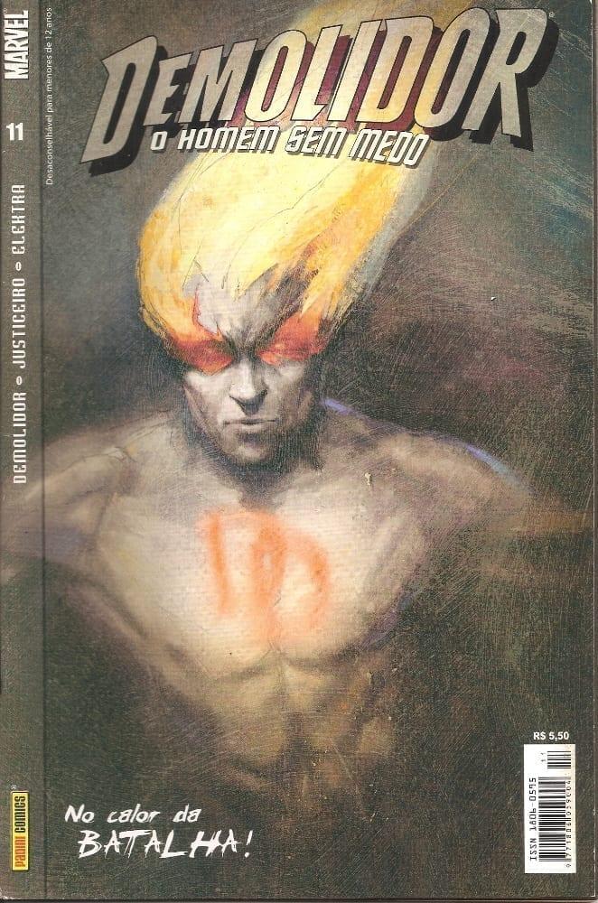 Capa: Demolidor - 1ª Série 11