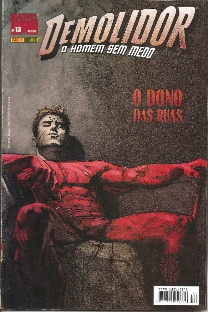 Capa: Demolidor - 1ª Série 13