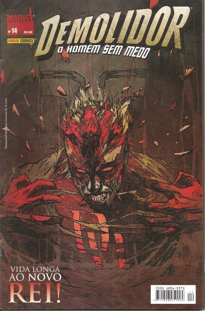 Capa: Demolidor - 1ª Série 14