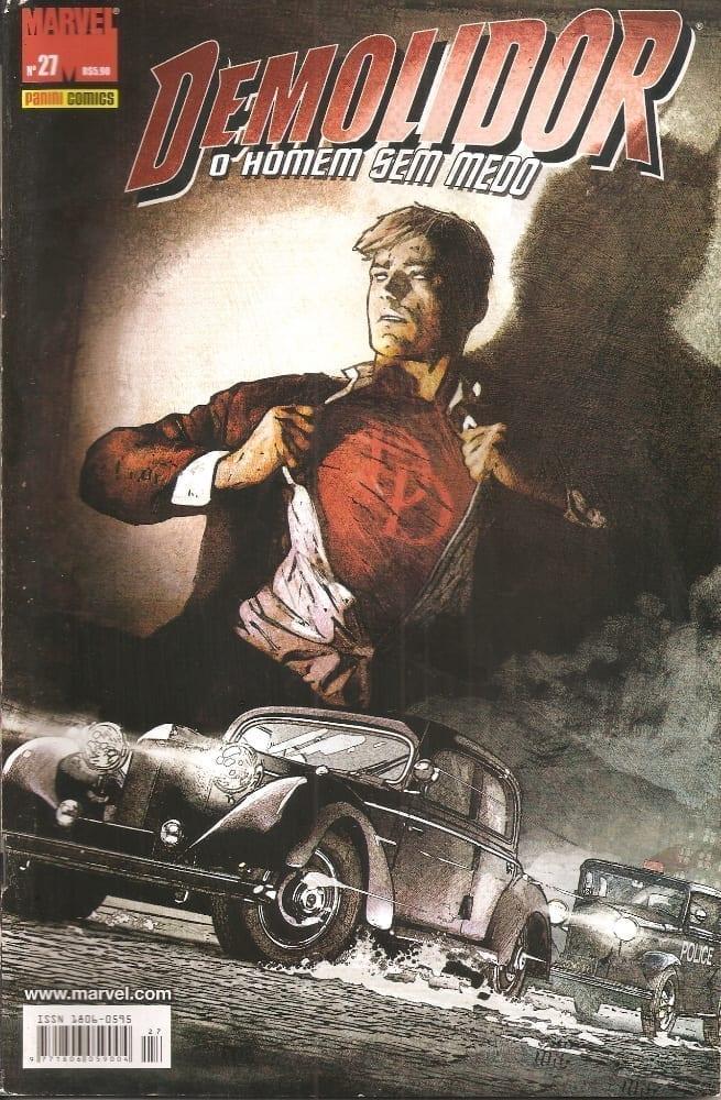 Capa: Demolidor - 1ª Série 27