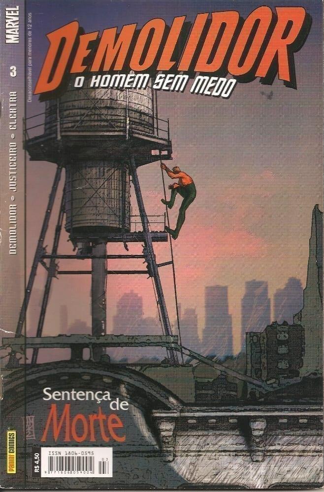 Capa: Demolidor - 1ª Série 3
