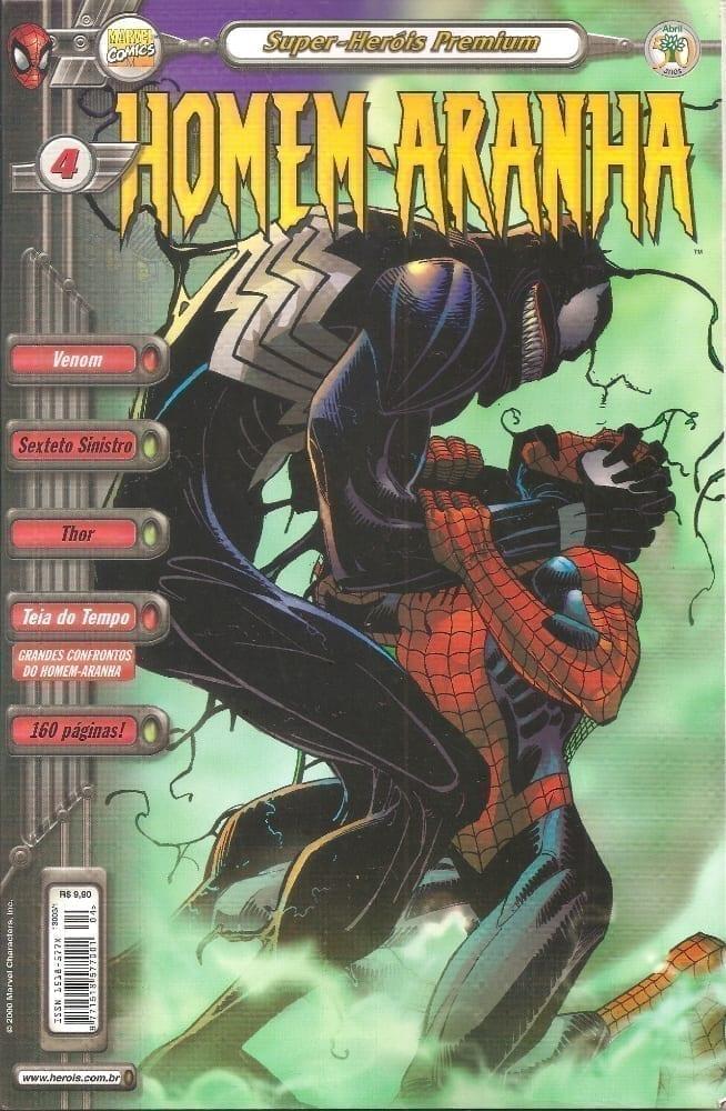 Capa: Homem-Aranha - 2ª Série (Super-Heróis Premium) 4
