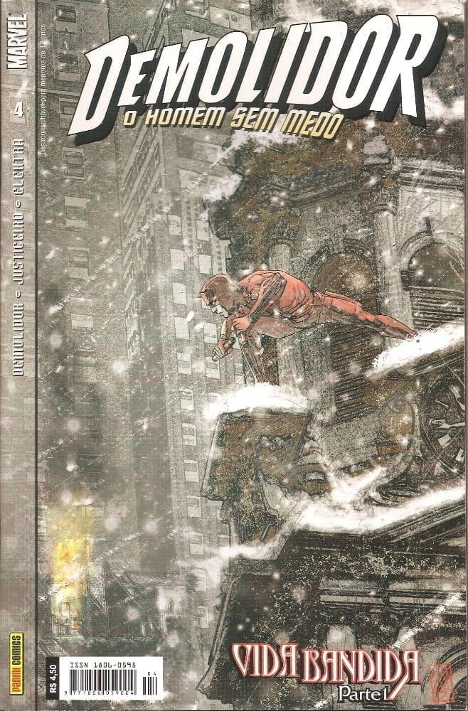 Capa: Demolidor - 1ª Série 4