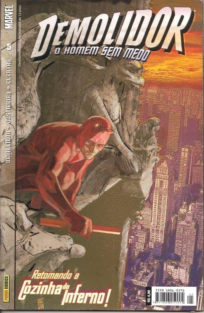 Capa: Demolidor - 1ª Série 5