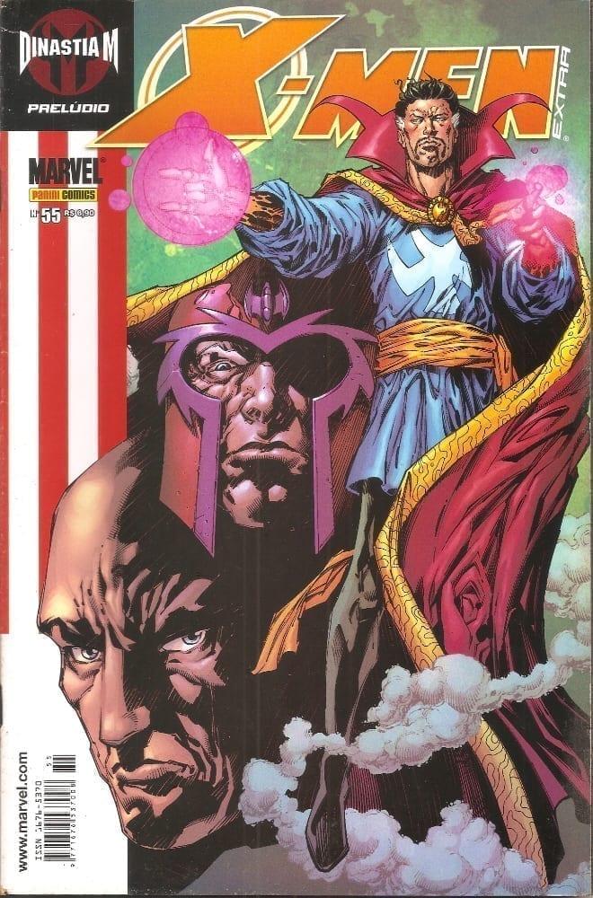 Capa: X-Men Extra - 1ª Série 55