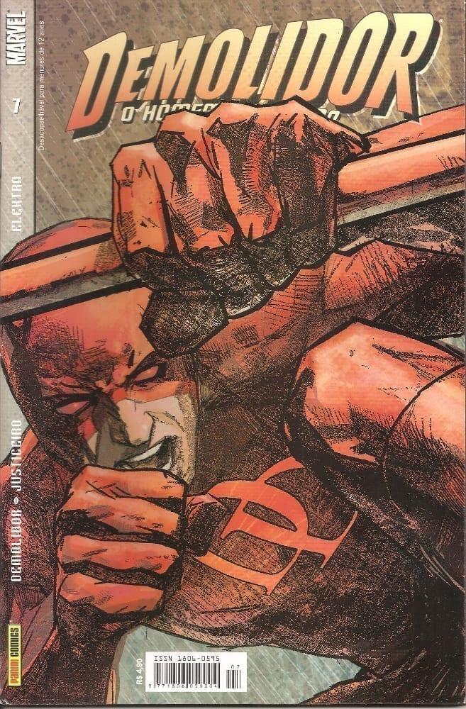 Capa: Demolidor - 1ª Série 7