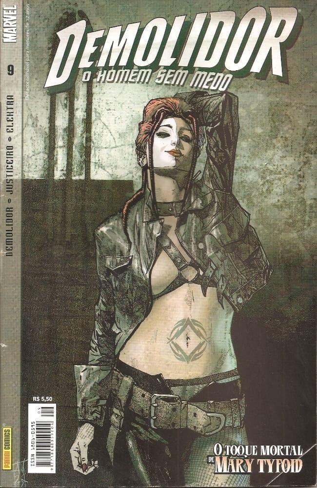Capa: Demolidor - 1ª Série 9