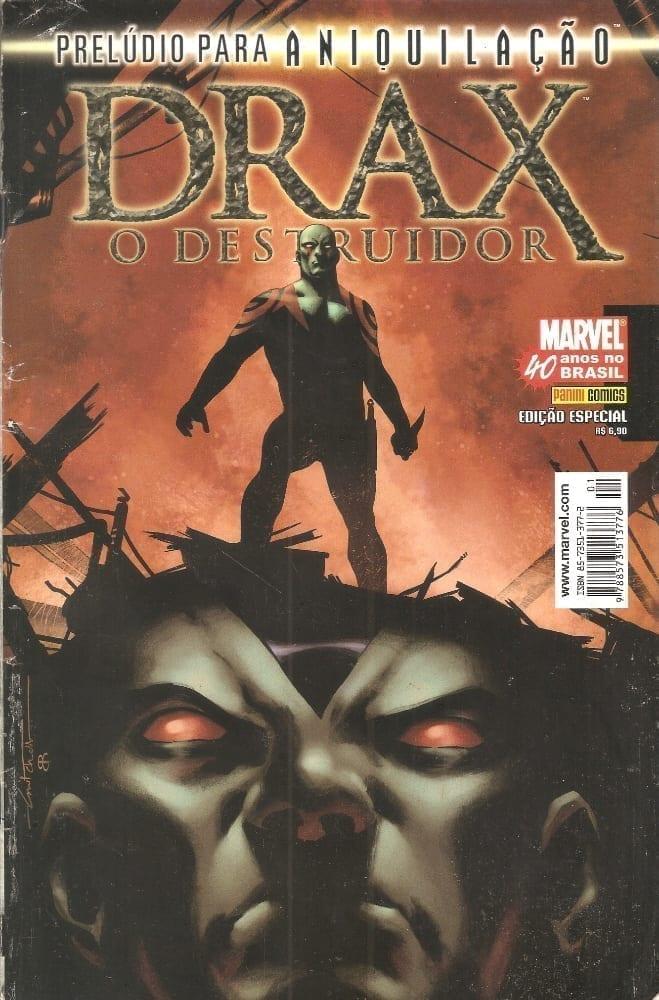 <span>Prelúdio Para Aniquilação: Drax, O Destruidor</span>