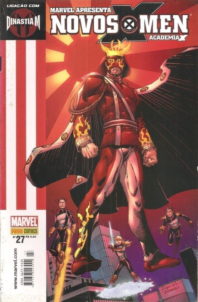Capa: Marvel Apresenta - Novos X-Men - Academia X 27