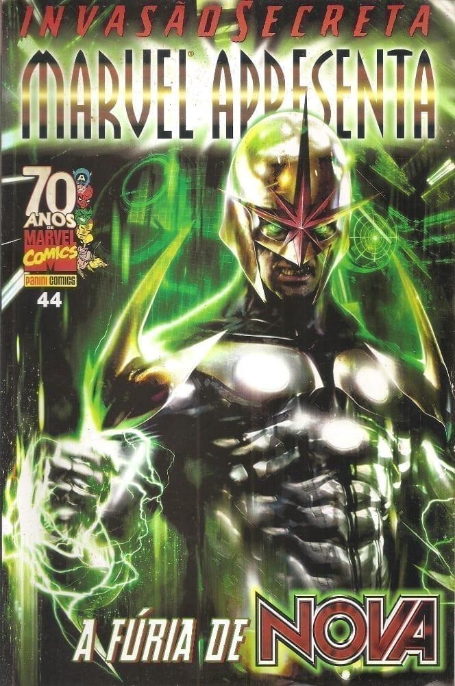 Capa: Marvel Apresenta - A Fúria de Nova 44