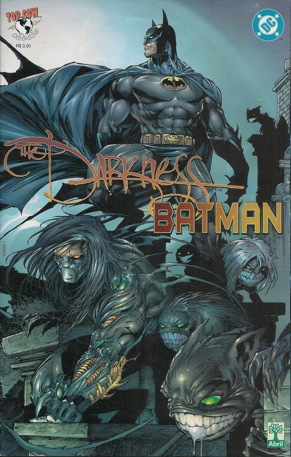 <span>The Darkness & Batman</span>